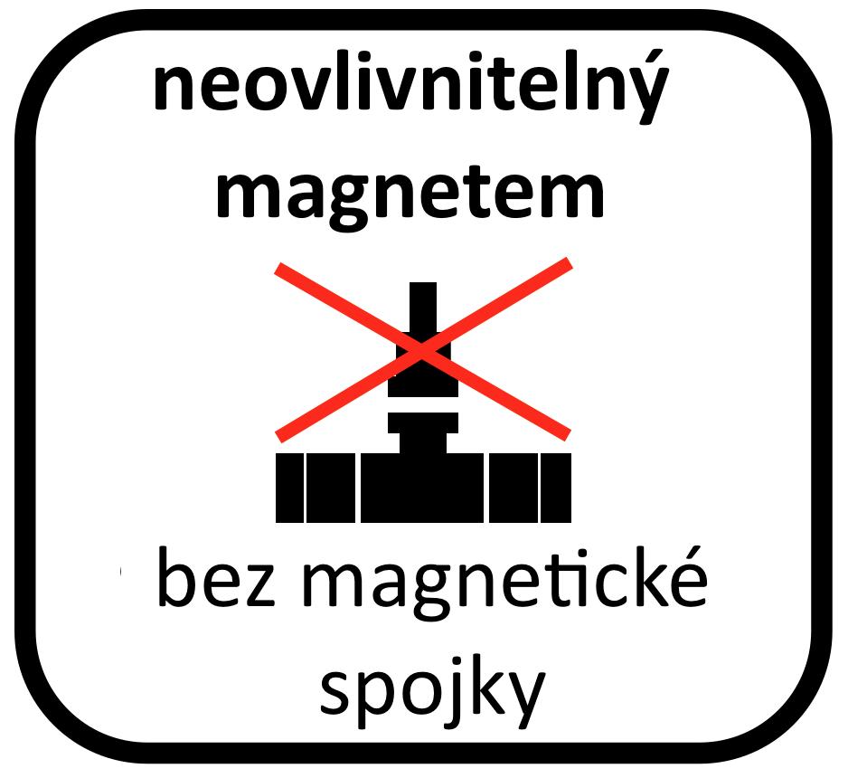 vodoměr bez magnetické spojky