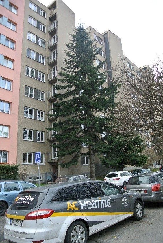Panelový dům vPraze, Bělčické ulici, 18 bytů, spuštěno 2019.