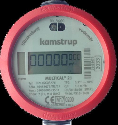 ultrazvukový vodoměr Kamstrup SMARTm
